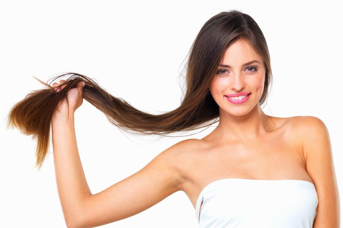 تطويل الشعر طبيعي