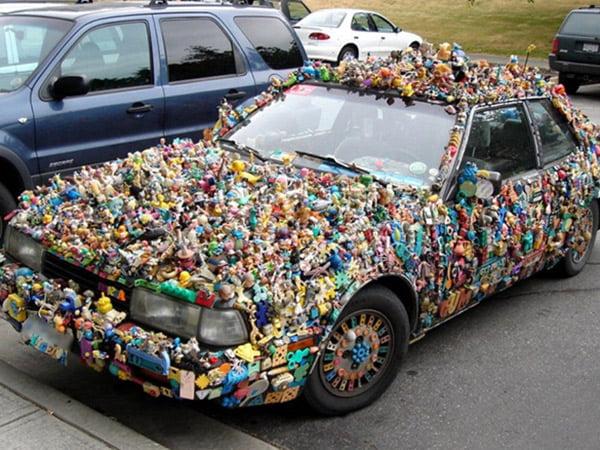 أغرب السيارات على مستوى العالم
