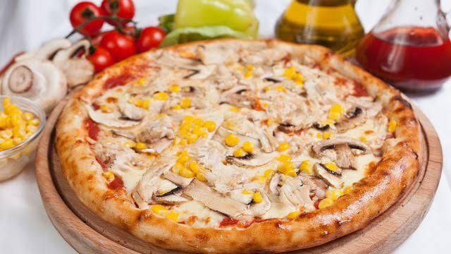 طريقة بيتزا شاورما فراخ