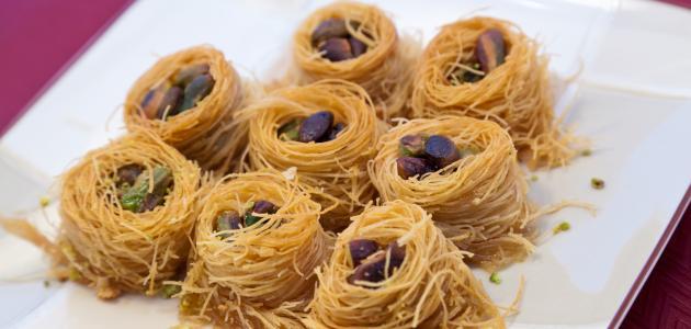 طريقة كنافة عش البلبل حلويات رمضان سهلة وسريعة