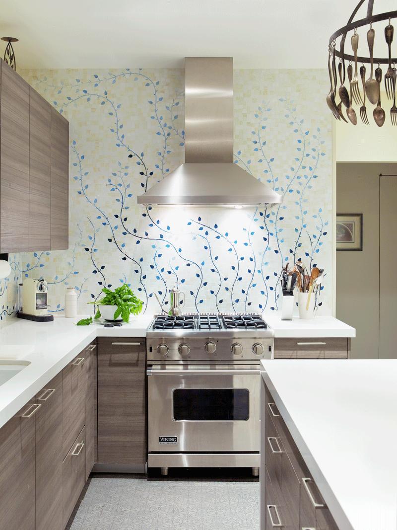 أفضل اشكال ورق جدران المطابخ والحمامات 2020