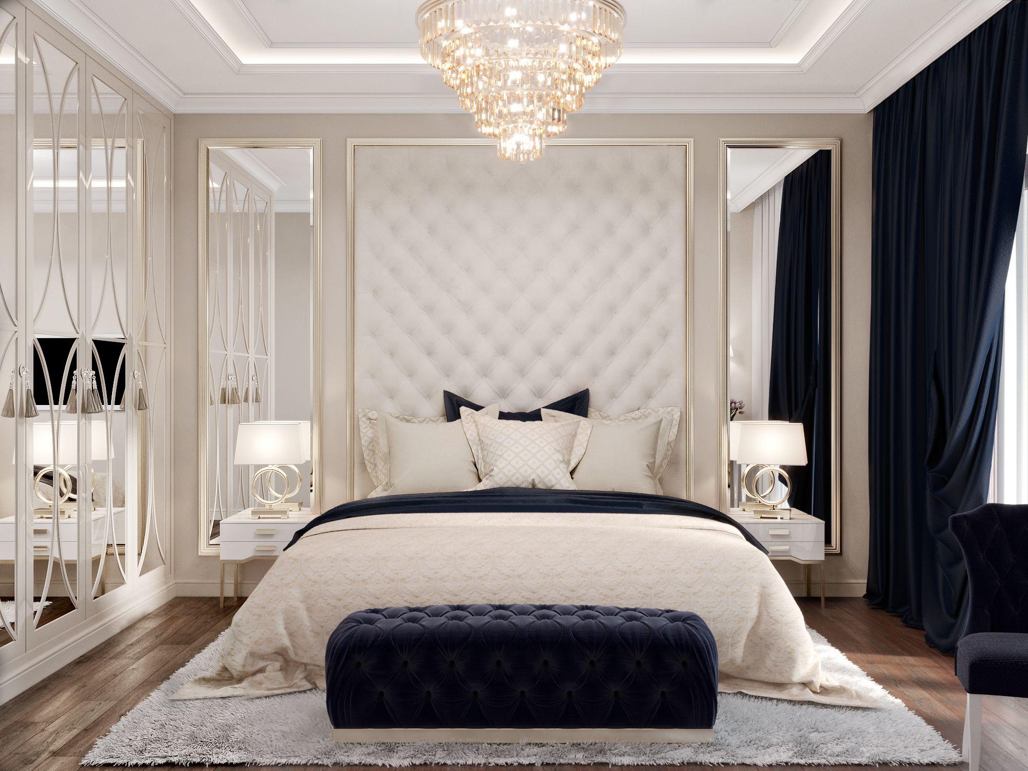 أفضل ديكورات غرف نوم للعرسان كاملة 2020 ديكور غرف نوم مودرن